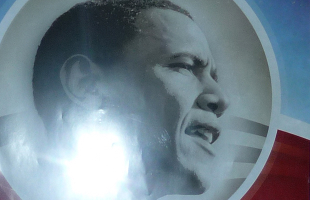1 Obama on poster