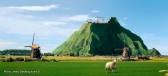 Dutch mountain: Joke or triumph?