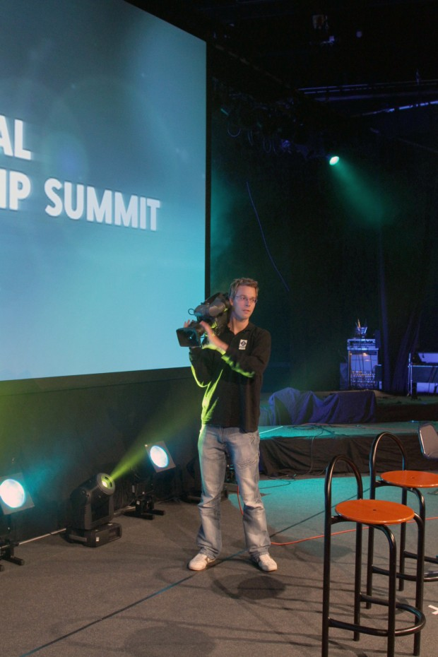 benjamin at global leadership summit 2011