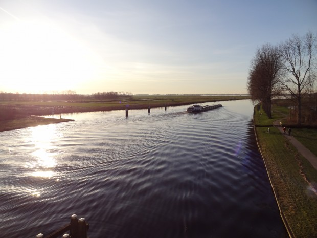 Burgum Friesland the Netherlands in January 1