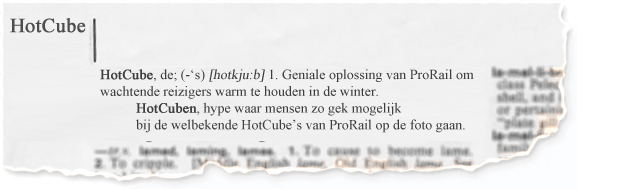 HotCube ProRail competition 1