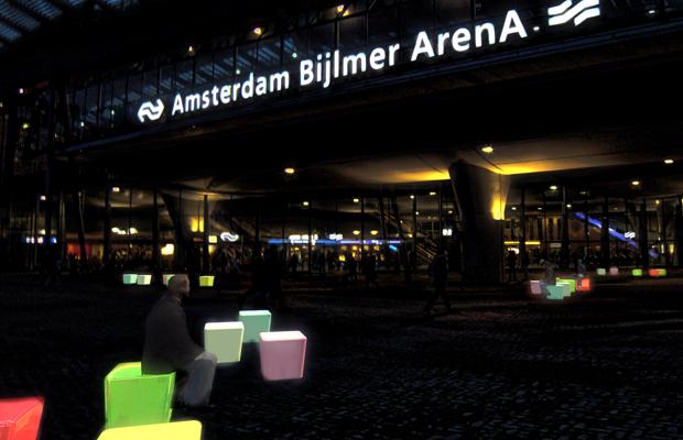 HotCube ProRail competition Amsterdam Bijlmer Arena Station