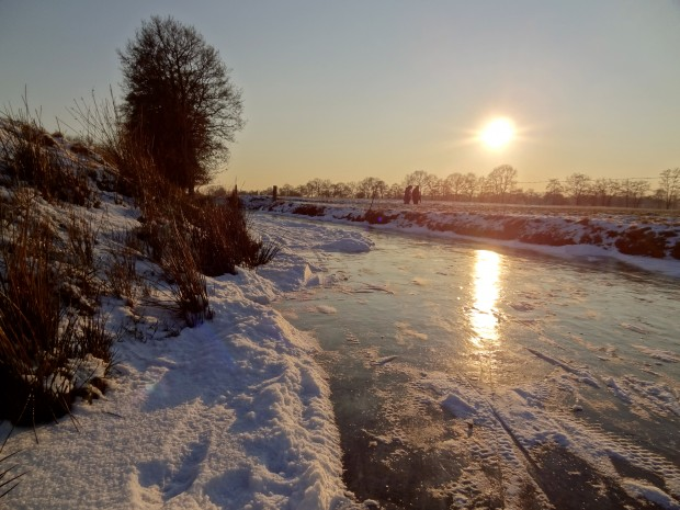 winter in friesland the netherlands 2