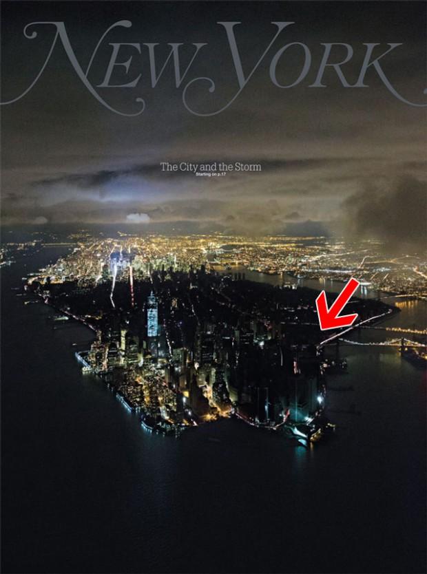 Blackout New York City November 2012