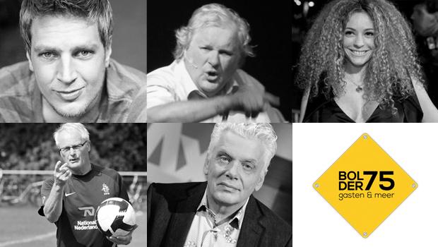 Bolder75 met Renze Klamer - Fajah Lourens - Jan Slagter - Foppe de Haan - Otto de Bruijne - VBG Bethel Drachten