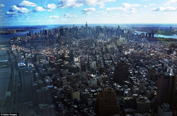 View from One World Trade Center - Benjamin Feenstra - New York City