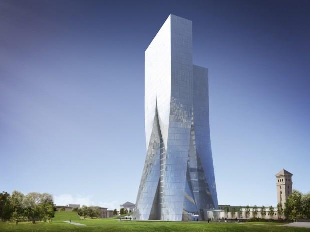 Coop Himmelblau - Central Bank Azerbaijan 2 - Benjamin Feenstra