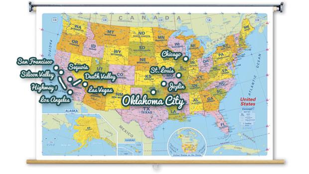 road trip USA 2012 Oklahoma City