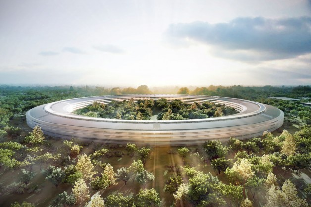 New-Apple-Campus-Rendering-cupertino-steve-jobs