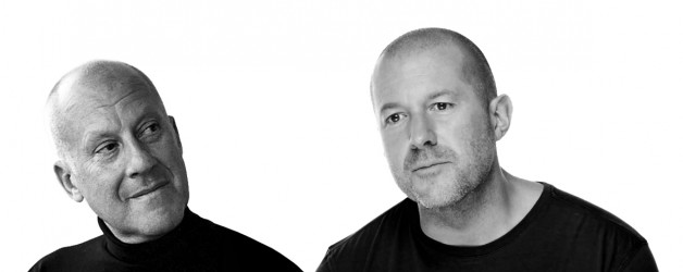 jony ive and norman foster