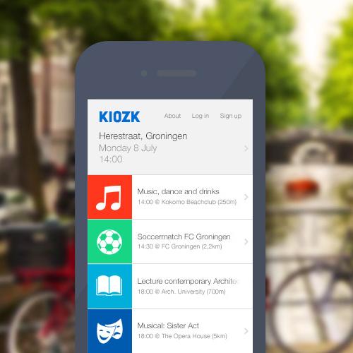 Kiozk App 1 - Benjamin Feenstra