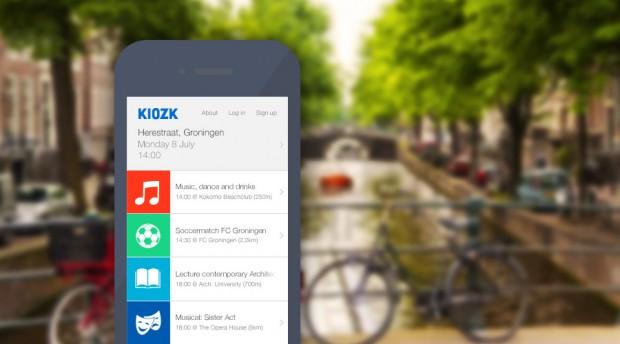 Kiozk App - Benjaminfeenstra.com