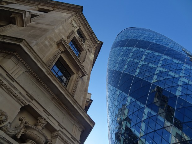 The Gherkin - 30 st Mary Axe - Norman Foster
