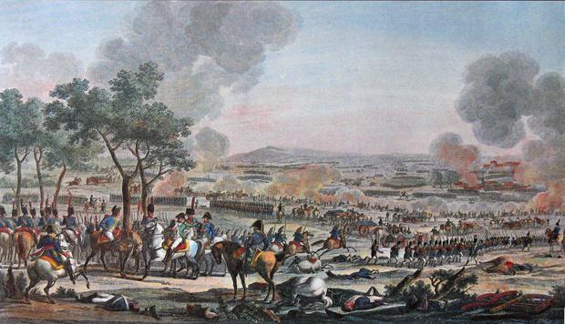 Slag bij Wagram 7 juli 1809